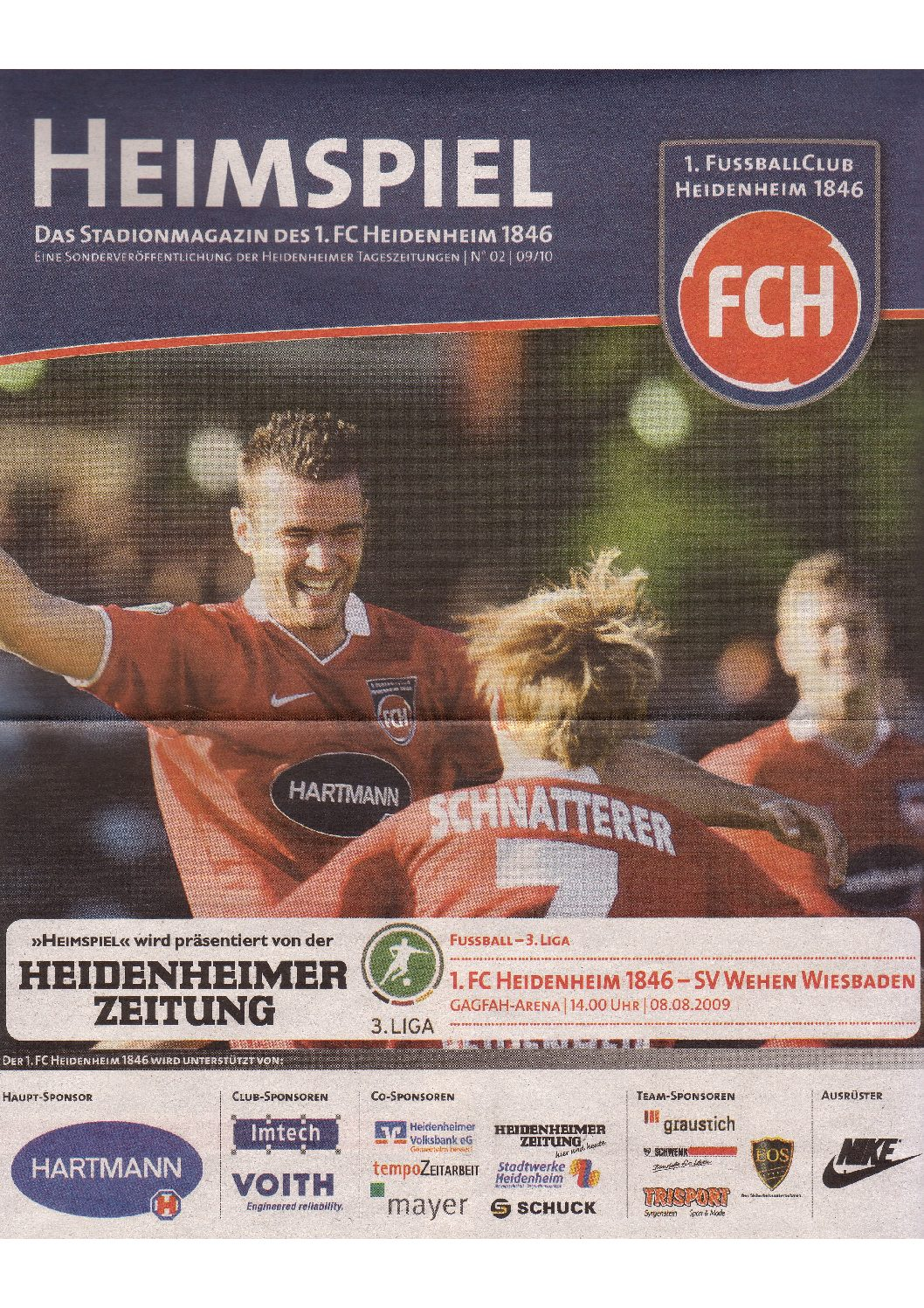 Heimspiel Magazin 09/10