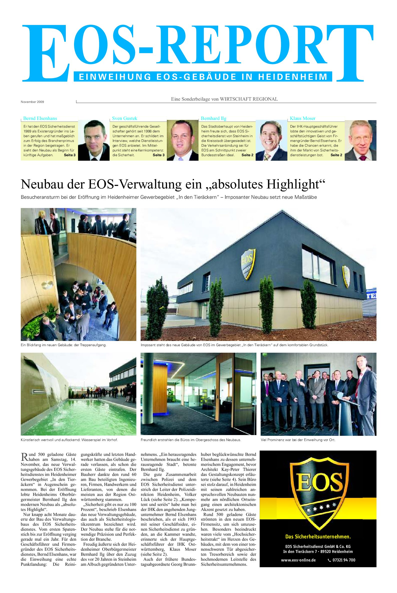 EOS-Report
