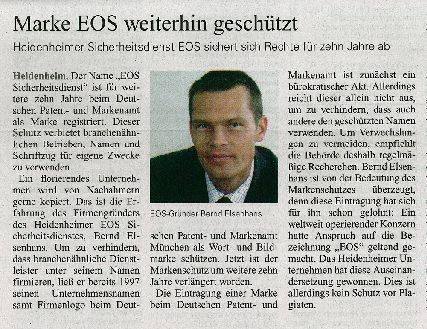 Marke EOS weiterhin geschützt