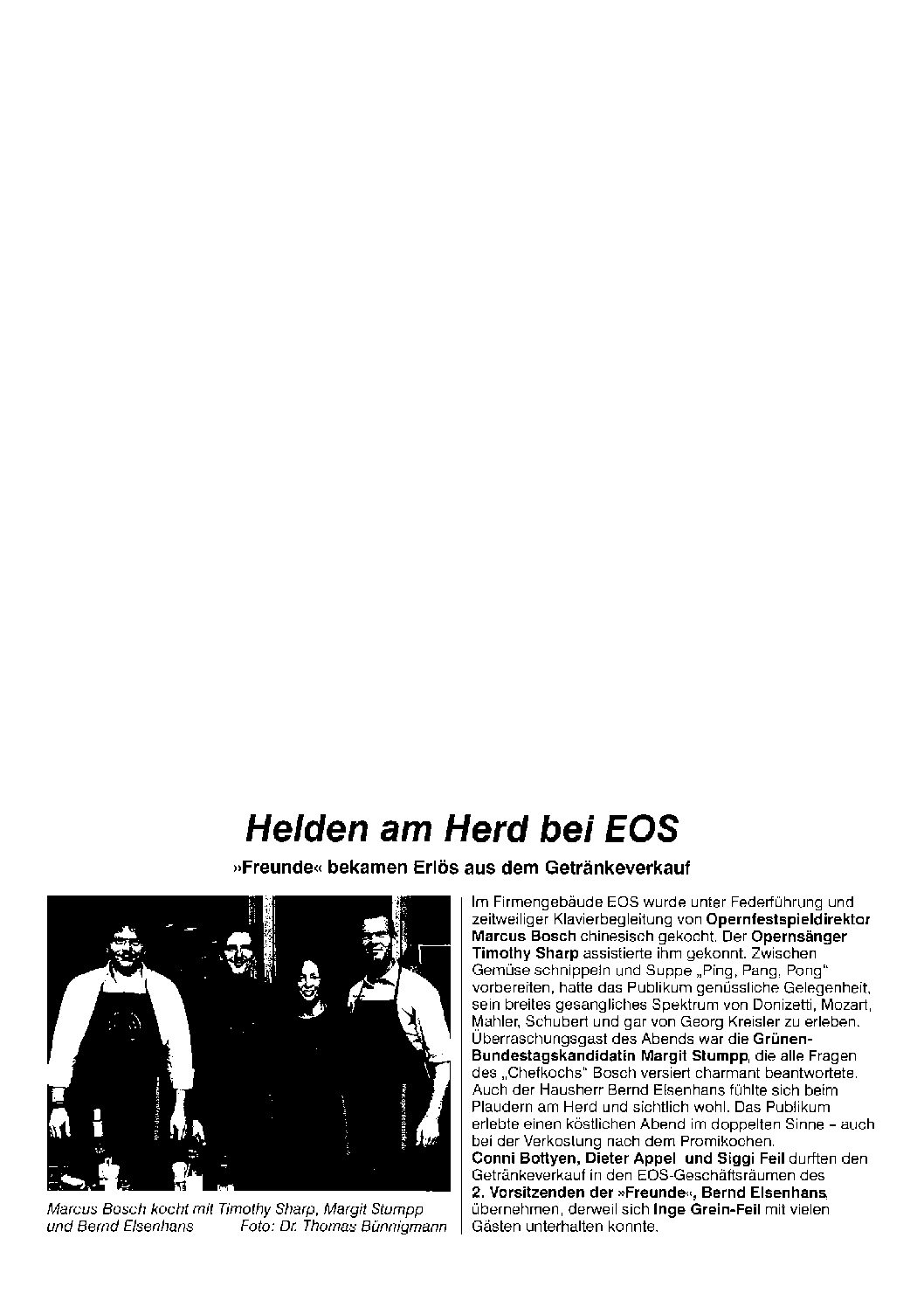 Helden am Herd bei EOS