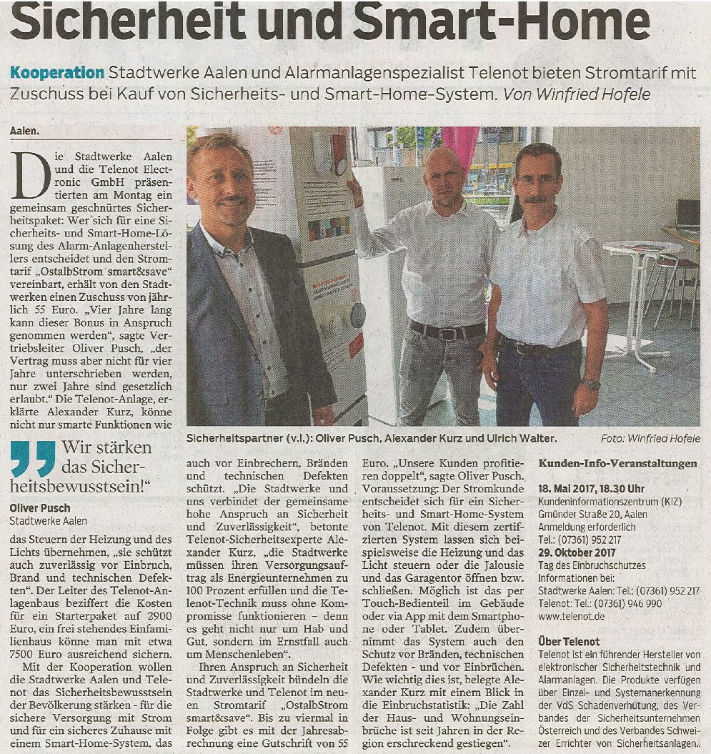 Sicherheit und Smart-Home