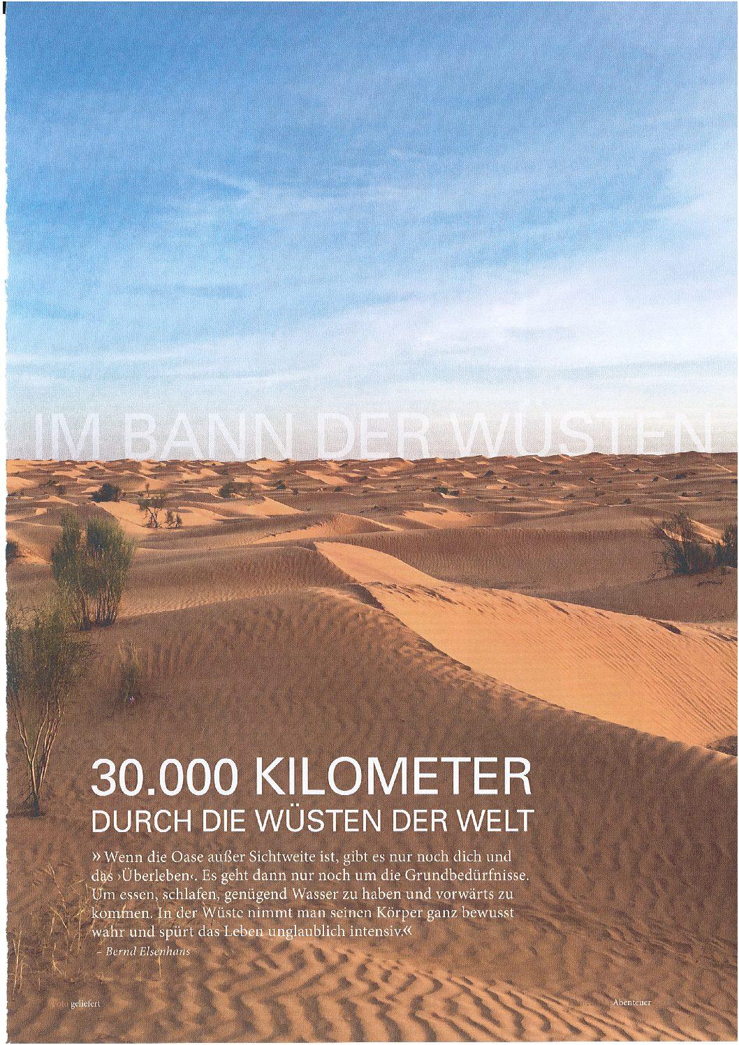 30.000 Kilometer durch die Wüsten der Welt