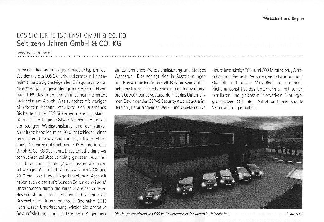 Seit 10 Jahren GmbH & Co. KG