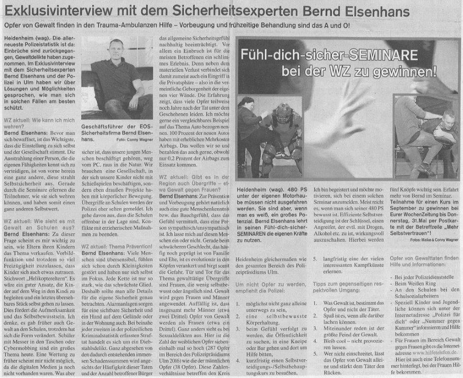 Exklusivinterview mit den Sicherheitsexperten Bernd Elsenhans