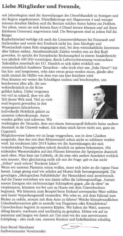 Gruß von Bernd Elsenhans