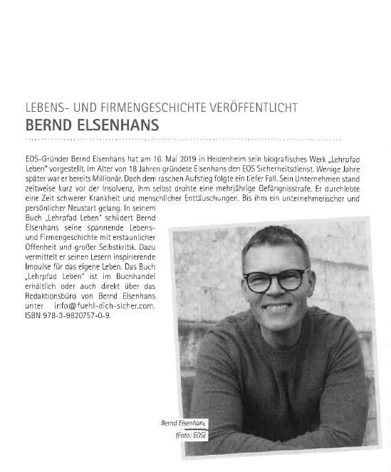 Bernd Elsenhans / Lebens- und Firmengeschichte