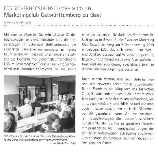 Marketingclub Ostwürttemberg zu Gast