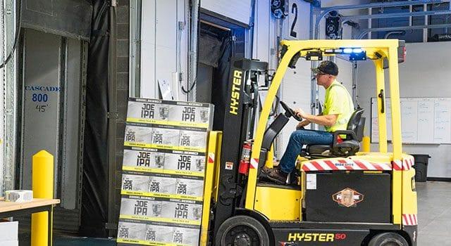 Abfertigungen und Kontrollen des externen und internen Lieferverkehrs