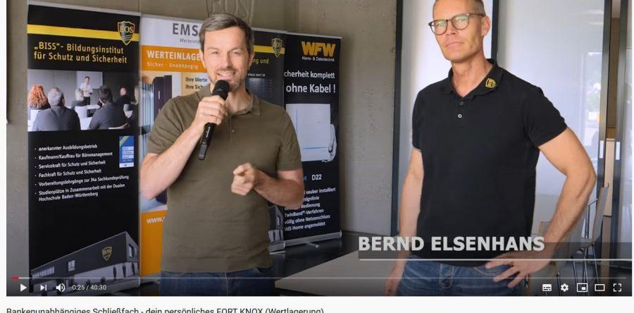 """Filmteam von Friedrich & Weik bei EOS: Einblicke ins """"deutsche Fort Knox"""""""