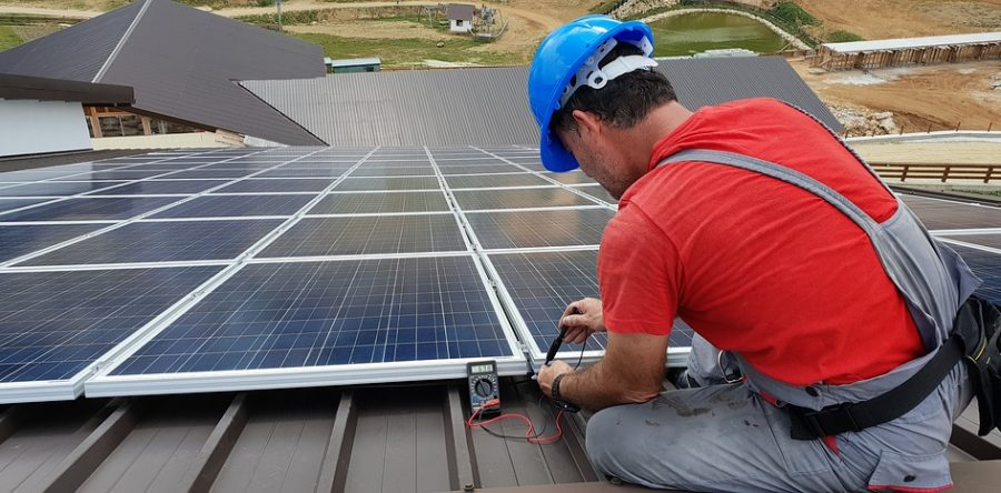 Eine Photovoltaik-Anlage – schneller weg als installiert